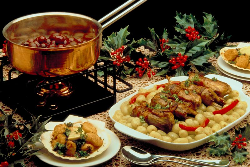party recipes christmas holidays the old farmer 39 s almanac