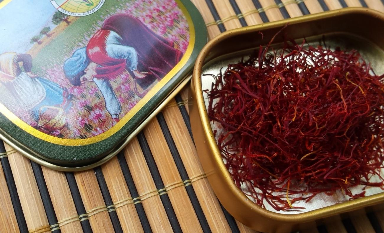 Exotic and Expensive Saffron