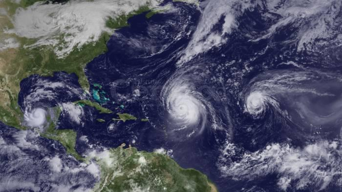 Herds of Hurricanes Appearing in Groups