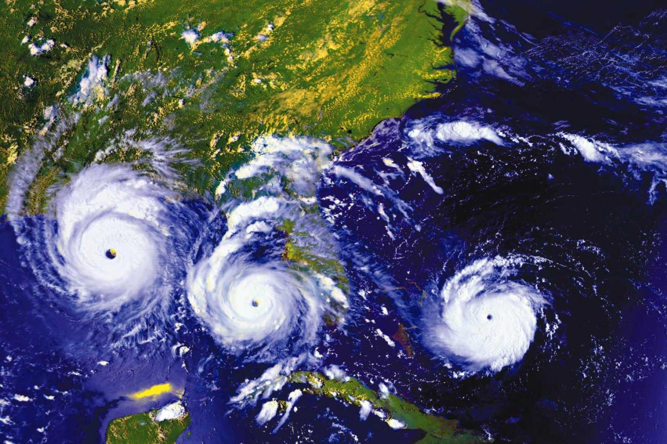 Where do hurricanes occur?