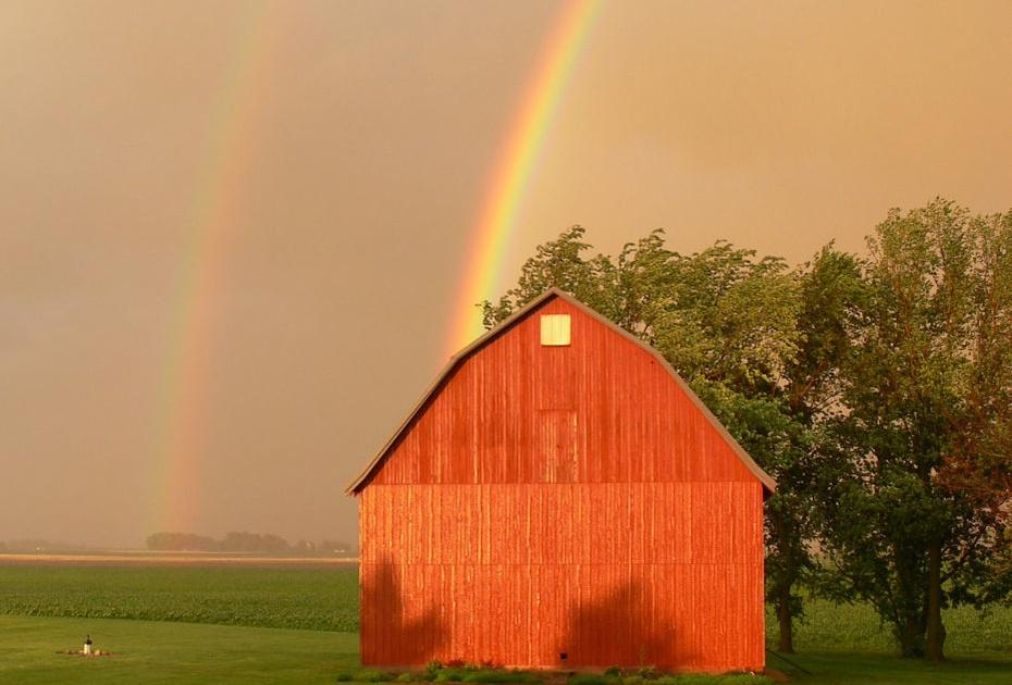 Double Rainbow in Iowa