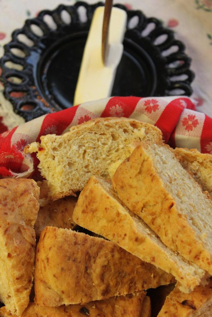 Mexian Hot Pepper Bread