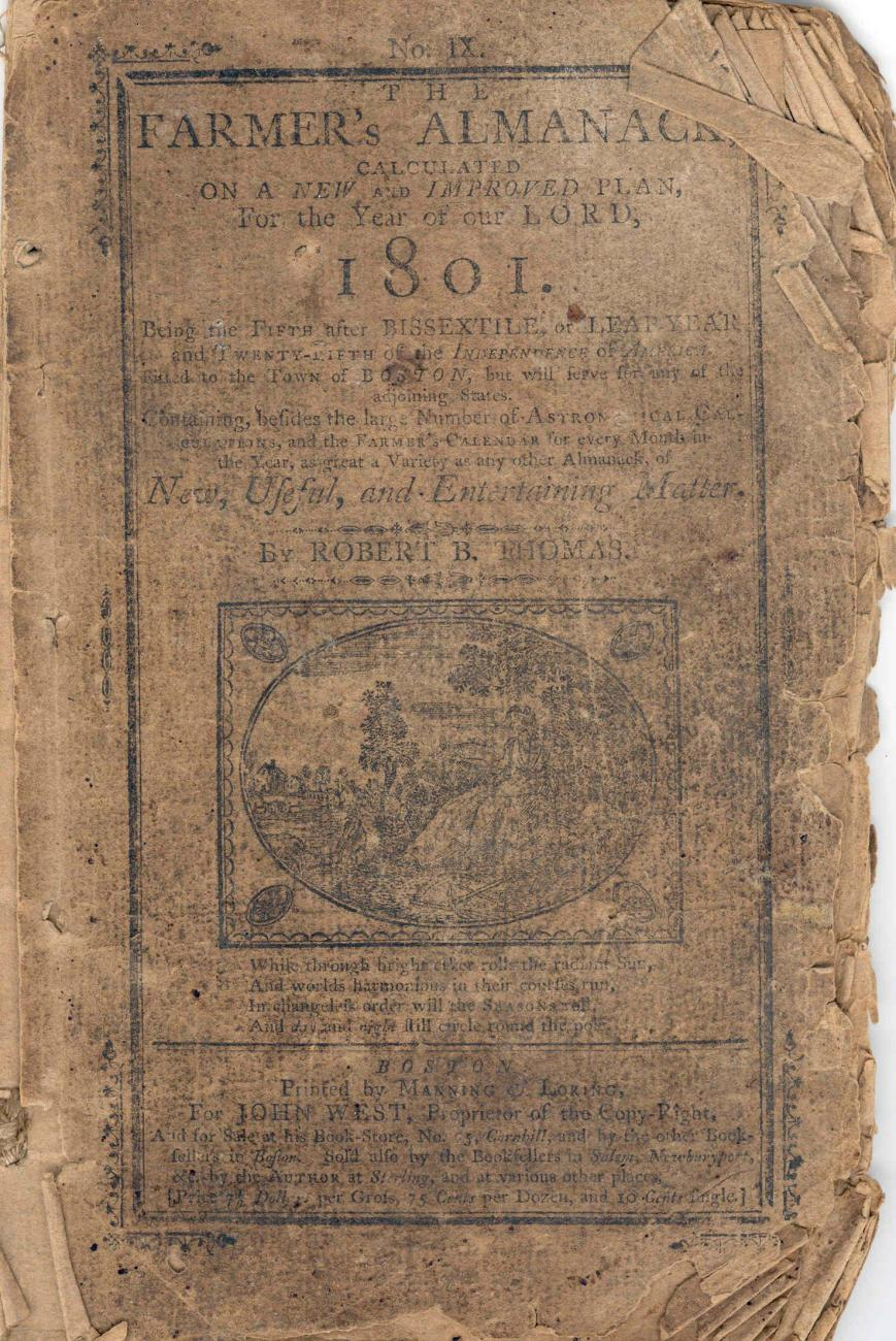 1801 Old Farmer's Almanac